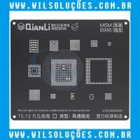 Stencil Qianli Tool Plus 3d Black - Msm 8996