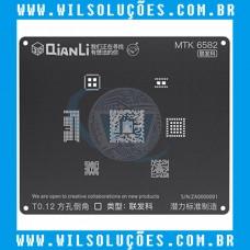Stencil Qianli Tool Plus 3d Black - Mtk 6582