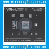 Stencil Qianli Tool Plus 3d Black - SDM 636 100-AA