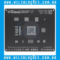 Stencil Qianli Tool Plus 3d Black - SDM 660 301-AA
