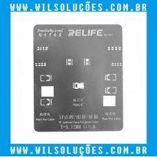 Stencil Relife RL-044 para Face ID Iphone X - XS MAX - XR - 11Pro MAX