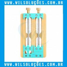 Suporte universal Duplo para placa de celular alta temperatura - 2 Eixos