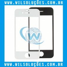 Tela Vidro iphone 4 e 4s branco e preto