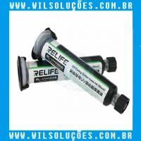 Tinta Uv - Mascara Uv Relife RL-Uvh900B 10ml - Preta