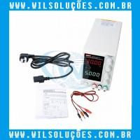 Fonte de Alimentação CC UTP3315TFL-II - Fonte assimétrica 0-30V - 0-5A