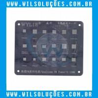Stencil Qualcomm PM562 - PM6150L - PM8150 - PM660 - PM670 - PM845 - PM540 - PMI632 - PM640 - PM489