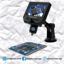 Microscópio Digital Suporte LCD Portátil 1-600x