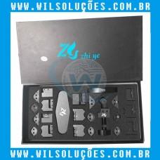 Kit Reparo de Moldura para Iphone e Ipad - 26 em 1 - Desentorta carcaça