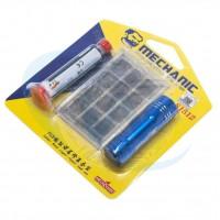 Kit Mechanic S1512 Lanterna Tinta UV Stencil Efix