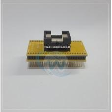 Adaptador DIP48/TSOP48 - TSOP48 - Socket Svod TSOP48 - Socket Nand