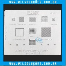 Stencil Amaoe Mac 7 - Para Macbook Pro A2159