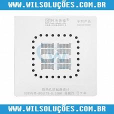 Stencil BGA178 Amaoe para Memórias Macbook - Stencil Memoria DDR BGA 178