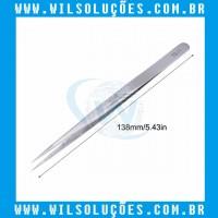 Pinça Aço Inoxidável Anti Estática Vetus ST-11